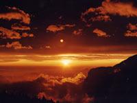 阿里山夕陽001