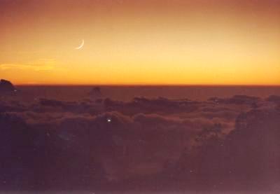 阿里山夕陽002